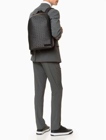 Mochila-Calvin-Klein-Mono-Backpack---Preto-