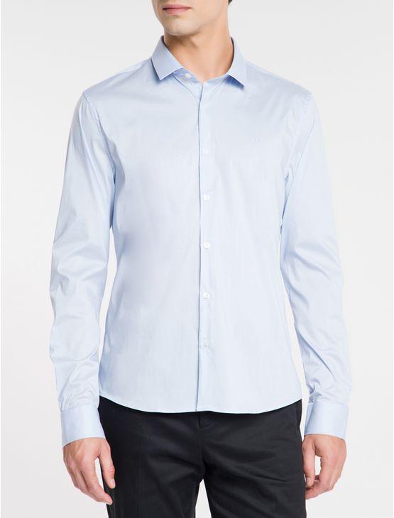Camisa-Slim-Cannes-Toque-Suave---Azul-Claro