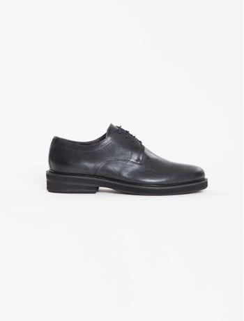 Sapato-Calvin-Klein-Masculino-De-Couro---Preto