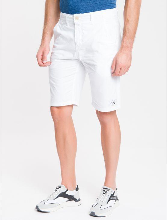 Bermuda-Color-Chino---Branco