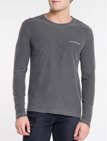 Camiseta-Ckj-Ml-Dupla-Face-Institucional---Chumbo-