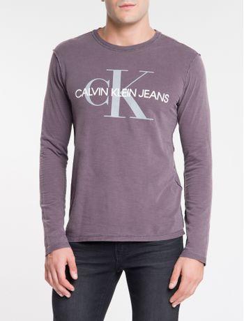 Camiseta-Ckj-Ml-Dupla-Face-Institucional---Bordo-