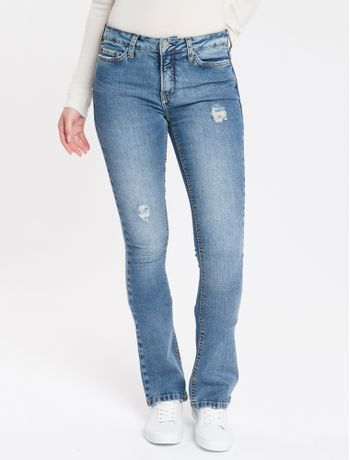 Calca-Jeans-Five-Pockets-Kick-Flare---Azul-Claro-