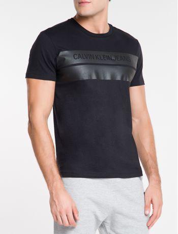 Camiseta-Ckj-Mc-Logo-Vazado-Com-Faixa---Preto-