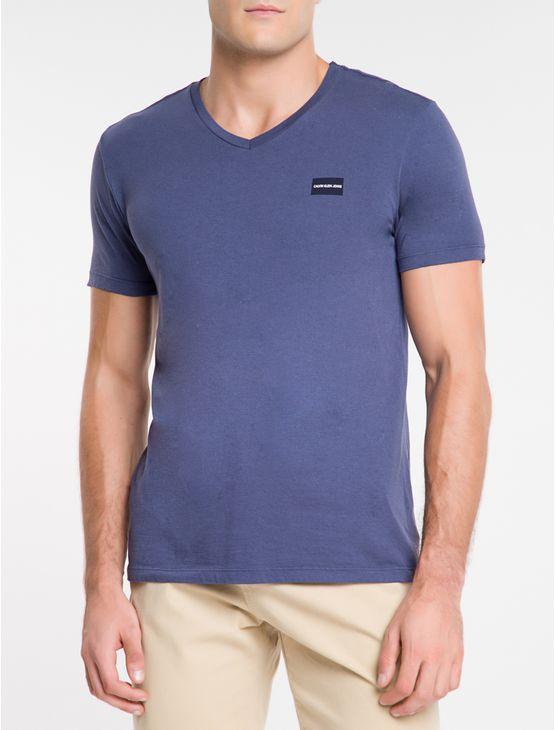 Camiseta-Ckj-Mc-Dec.V-Logo-Degrade---Indigo-