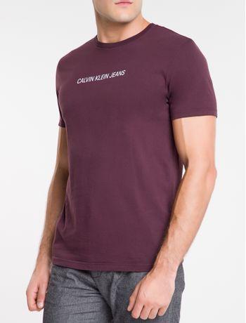 Camiseta-Ckj-Mc-Institucional---Bordo-