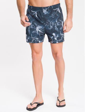 Shorts-Dagua-Estampado-Floral---Chumbo-