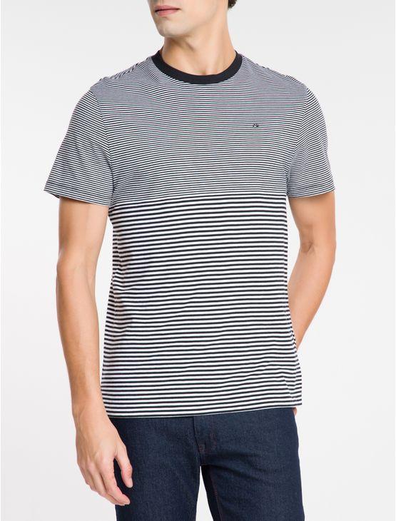 Camiseta-Com-Listras-Irregulares-P-B---Preto-
