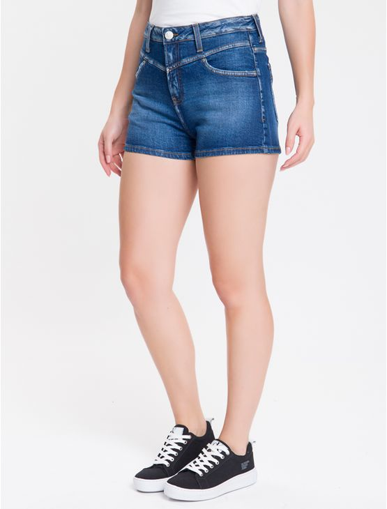 Shorts-Jeans-Five-Pockets-Com-Recorte---Azul-Medio-