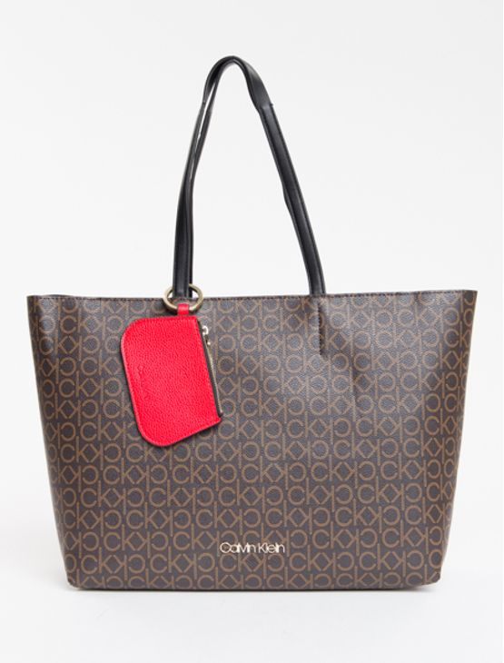 Bolsa-Calvin-Klein-Shopper-Media-Mono---Marrom-