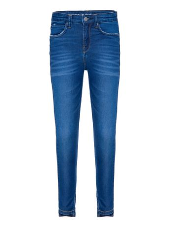 Calca-Jeans-Five-Pockets-Degrau-Barras---Azul-Medio-
