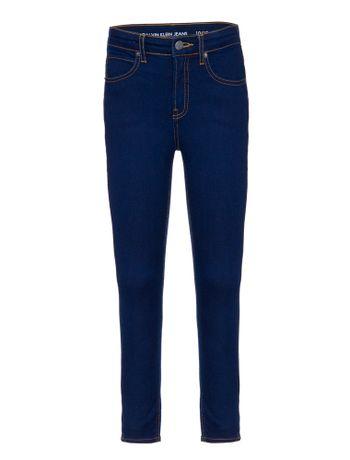 Calca-Jeans-Five-Pockets-Fendas-Laterais---Marinho-