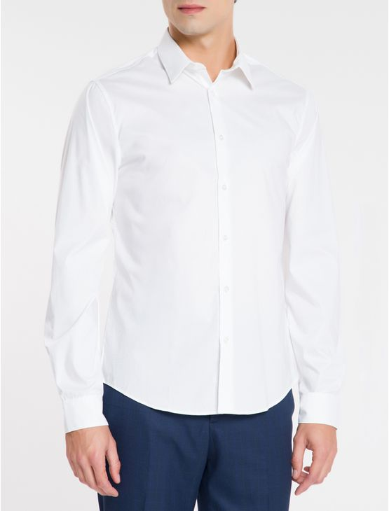 Camisa-Ml-Calvin-Klein-Extra-Slim-Fit---Branco-2-