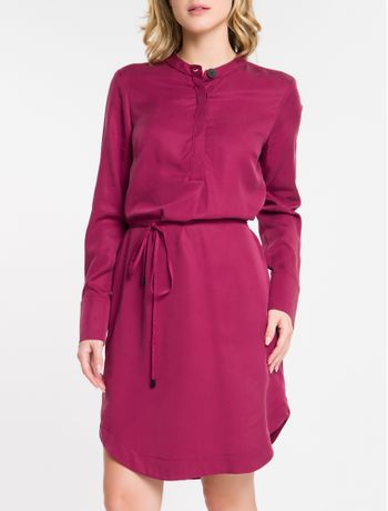 T---Shirt-Dress-Amarracao-Na-Cintura-Cks---Bordo-----