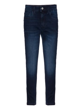 Calca-Jeans-Five-Pockets-Tapered---Marinho-