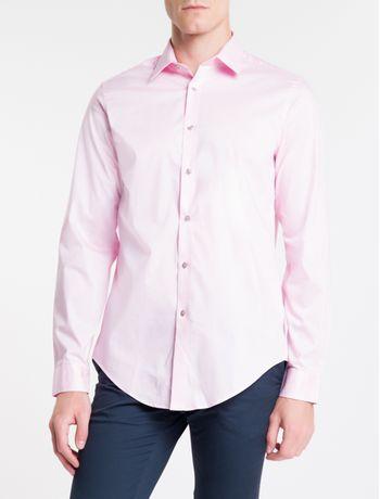 Camisa-Slim-Mg-Longa-Flex-Collar---Rosa-Claro-