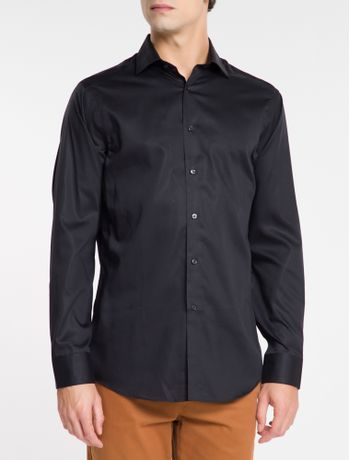 Camisa-Regular-Fit-Ml-Ck-Non-Iron---Preto
