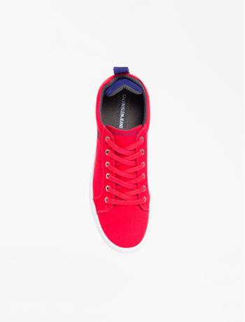 Tenis-Lona-Cano-Baixo-Skate-Logo-Caixa---Vermelho