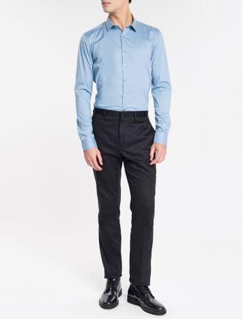 Camisa-Slim-Cannes-Toque-Suave---Azul-Medio
