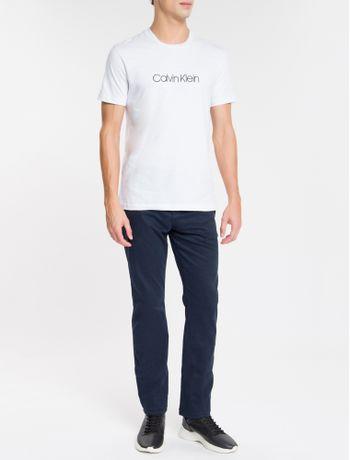 Camiseta-Slim-Basica-Flame-Calvin-Klein---Branco-2