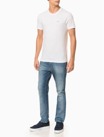Camiseta-Slim-Flame-Calvin-Klein---Branco-2