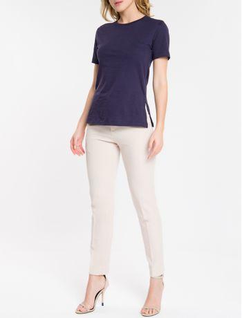 Camiseta-Basica-Calvin-Klein---Marinho