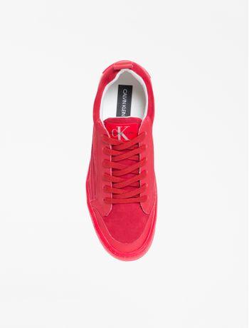 Tenis-Ckj-Fem-Skate-Unicolor-Global---Vermelho