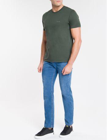 Camiseta-Ckj-Mc-Basico-Peito---Militar-