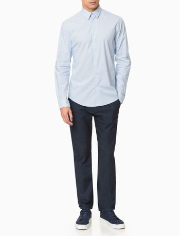Camisa-Extreme-Slm-Fit-Micro-Listras---Gelo-