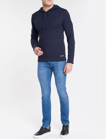 Calca-Jeans-Five-Pockets-Slim-Straight---Azul-Medio-