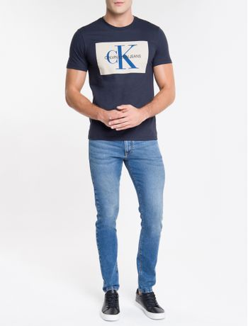 Camiseta-Ckj-Mc-Re-Issue-Retangulo---Marinho-