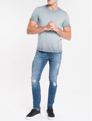 Camiseta-Ckj-Mc-Calvin-Full-Devore---Chumbo-