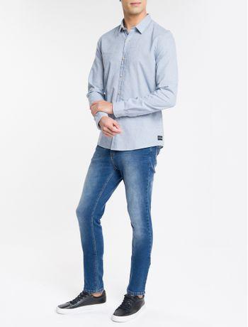 Camisa-Ml-Slim-Listr-H-Sbols-Amac---Azul-Claro-
