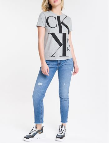 Blusa-Mc-Slim-Logo-Meia-Reat-Gc-Mirror---Mescla-