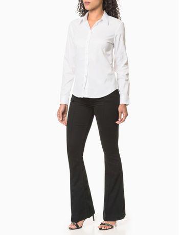 Calca-Jeans-Five-Pockets-Flare---Preto-