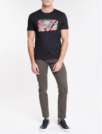 Camiseta-Ckj-Mc-Calvin-Metro-Blur---Preto-