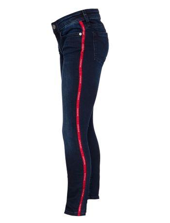Calca-Jeans-Five-Pockets-Skinny-Logo---Marinho-