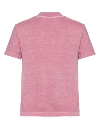 Blusa-Mc-Reg-Logo-Meia-Gc-Translucido---Rosa-Medio-