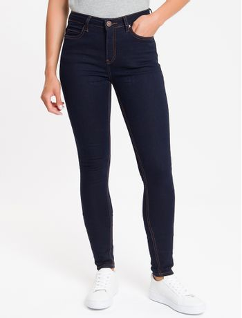 Calca-Jeans-Five-Pockets-Super-Skinny---Marinho