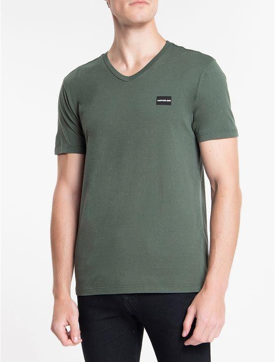 Camiseta-Ckj-Mc-Dec.V-Logo-Degrade---Militar