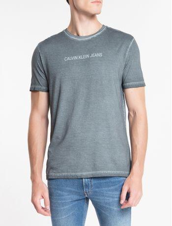 Camiseta-Ckj-Est-Basico---Chumbo