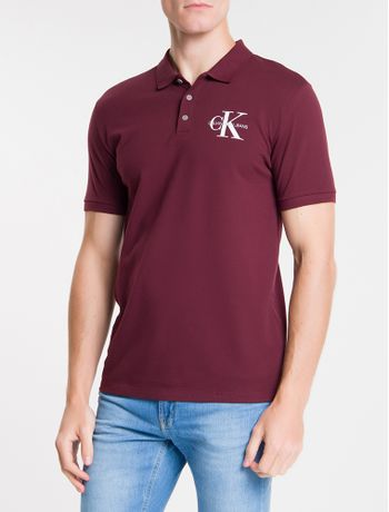 Polo-Ckj-Mc-Est-Re-Issue-No-Peito---Bordo