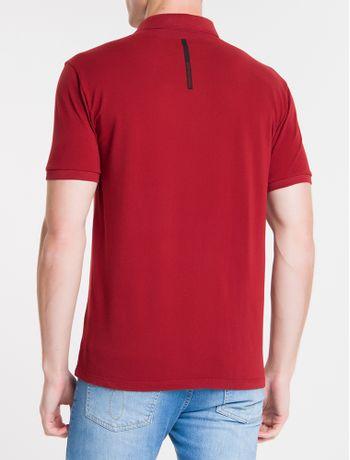 Polo-Ckj-Mc-Est-Logo-Inverse-No-Peito---Vermelho-Escuro