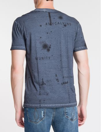 Camiseta-Ckj-Est-My-Calvins---Marinho
