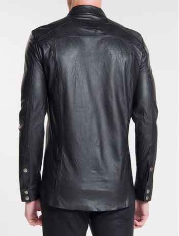 Camisa-Ckj-Masc-Couro---Preto