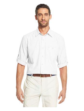 Camisa-Chambray-Manga-Longa-Branco---Loja-Izod