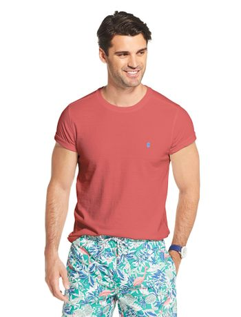 Camiseta-Basica-Manga-Curta-Vermelho---Loja-Izod