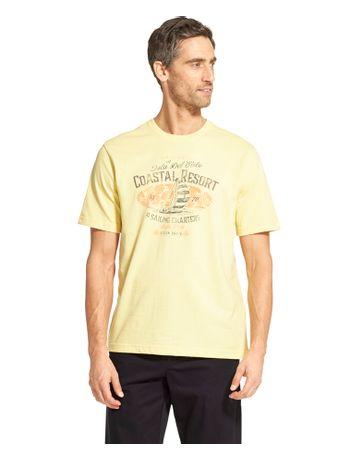 Camiseta-Manga-Curta-Estampada-Amarelo---Loja-Izod