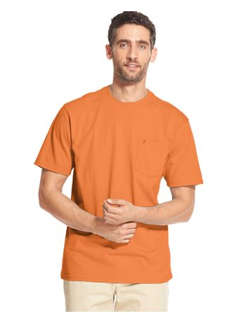 Camiseta-Basica-Manga-Curta-Laranja---Loja-Izod