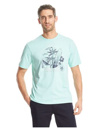 Camiseta-Manga-Curta-Estampada-Verde---Loja-Izod